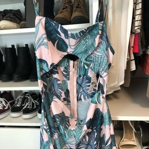 Tropical print romper from LF